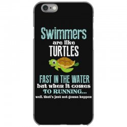 swimmers are like turtles fast in the water but when it comes to runni iPhone 6/6s Case   Artistshot