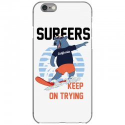 surfers keep on trying iPhone 6/6s Case | Artistshot