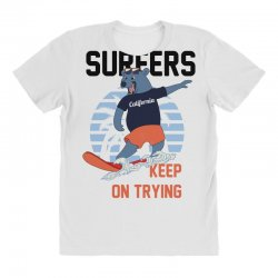 surfers keep on trying All Over Women's T-shirt | Artistshot