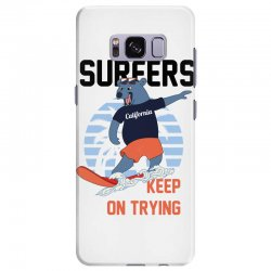 surfers keep on trying Samsung Galaxy S8 Plus Case | Artistshot