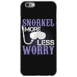 snorkel more less worry iPhone 6/6s Case   Artistshot