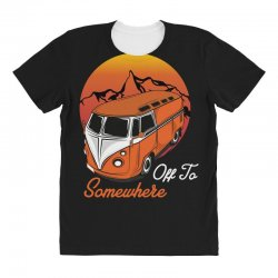 off to somewhere All Over Women's T-shirt | Artistshot
