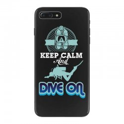 keep calm and dive on iPhone 7 Plus Case | Artistshot