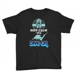keep calm and dive on Youth Tee | Artistshot