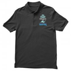 keep calm and dive on Polo Shirt | Artistshot
