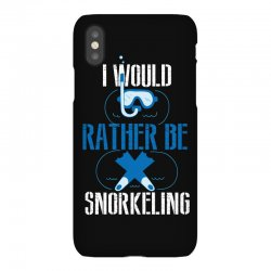 i would rather be snorkeling iPhoneX Case | Artistshot