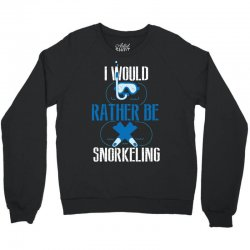 i would rather be snorkeling Crewneck Sweatshirt | Artistshot