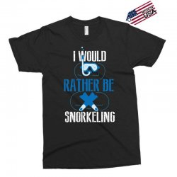 i would rather be snorkeling Exclusive T-shirt | Artistshot