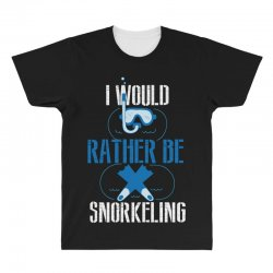 i would rather be snorkeling All Over Men's T-shirt | Artistshot