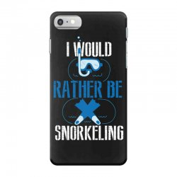 i would rather be snorkeling iPhone 7 Case | Artistshot