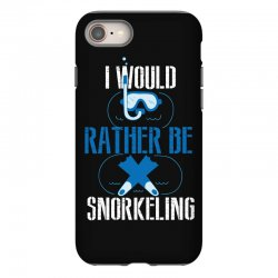 i would rather be snorkeling iPhone 8 Case | Artistshot