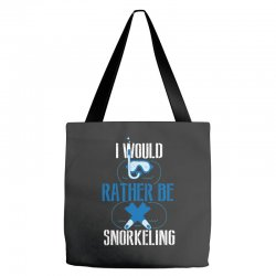 i would rather be snorkeling Tote Bags | Artistshot