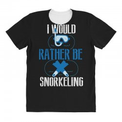 i would rather be snorkeling All Over Women's T-shirt | Artistshot