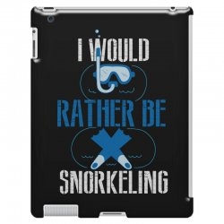 i would rather be snorkeling iPad 3 and 4 Case | Artistshot