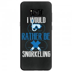i would rather be snorkeling Samsung Galaxy S8 Case | Artistshot