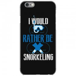 i would rather be snorkeling iPhone 6/6s Case | Artistshot