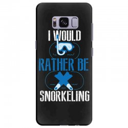 i would rather be snorkeling Samsung Galaxy S8 Plus Case | Artistshot