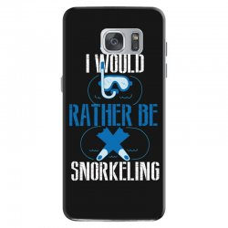 i would rather be snorkeling Samsung Galaxy S7 Case | Artistshot