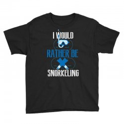 i would rather be snorkeling Youth Tee | Artistshot