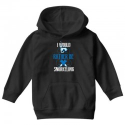 i would rather be snorkeling Youth Hoodie | Artistshot