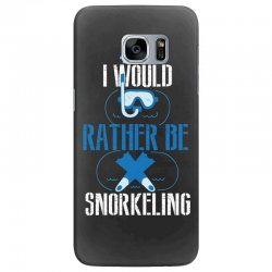 i would rather be snorkeling Samsung Galaxy S7 Edge Case | Artistshot