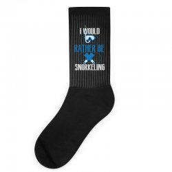 i would rather be snorkeling Socks | Artistshot