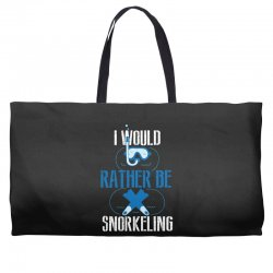 i would rather be snorkeling Weekender Totes | Artistshot