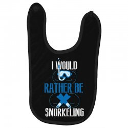 i would rather be snorkeling Baby Bibs | Artistshot