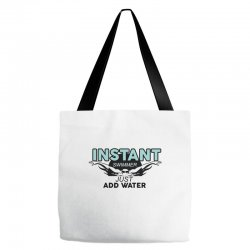 instant swimmer just add water Tote Bags   Artistshot