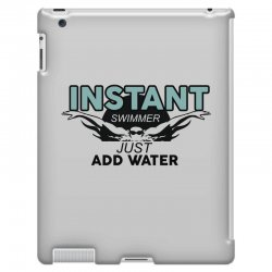 instant swimmer just add water iPad 3 and 4 Case   Artistshot