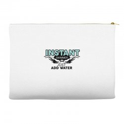 instant swimmer just add water Accessory Pouches   Artistshot