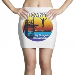 i can't my daughter has swimming Mini Skirts | Artistshot
