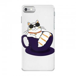 cool cat and coffee iPhone 7 Case   Artistshot