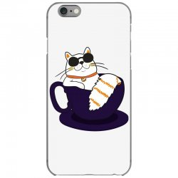 cool cat and coffee iPhone 6/6s Case   Artistshot