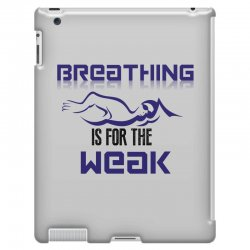 breathing is for the weak iPad 3 and 4 Case | Artistshot