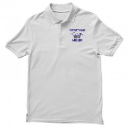 breathing is for the weak Polo Shirt | Artistshot