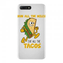 run all the miles eat all the tacos iPhone 7 Plus Case | Artistshot