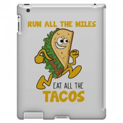 run all the miles eat all the tacos iPad 3 and 4 Case | Artistshot