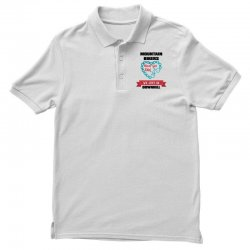 mountain bikers never get old we just go downhill Polo Shirt | Artistshot