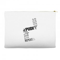 legs push pull repeat Accessory Pouches | Artistshot