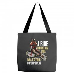 i ride mountain bike Tote Bags | Artistshot