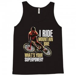 i ride mountain bike Tank Top | Artistshot