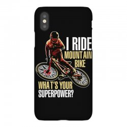 i ride mountain bike iPhoneX Case | Artistshot