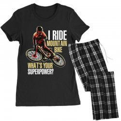 i ride mountain bike Women's Pajamas Set | Artistshot