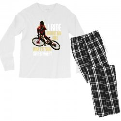 i ride mountain bike Men's Long Sleeve Pajama Set | Artistshot