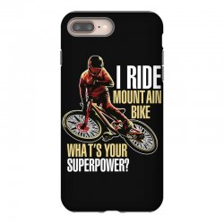 i ride mountain bike iPhone 8 Plus Case | Artistshot