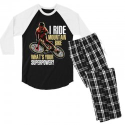 i ride mountain bike Men's 3/4 Sleeve Pajama Set | Artistshot