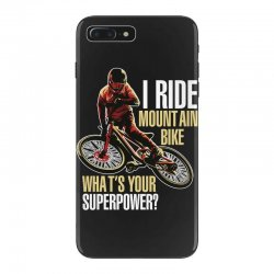 i ride mountain bike iPhone 7 Plus Case | Artistshot