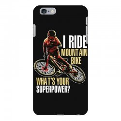 i ride mountain bike iPhone 6 Plus/6s Plus Case | Artistshot