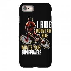 i ride mountain bike iPhone 8 Case | Artistshot